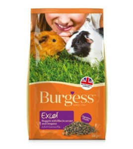Squidgypigs - Burgess Guinea Pig Nugget Review  (image from Burgess)