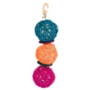 Woodland Brights Willow Balls -  pic from  Pets at Home