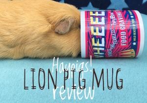 Lion Pig Mug