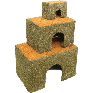 3 sizes of Carrot Cottage - Image from Rosewoodpet.com
