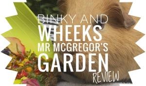 Binky and Wheeks Mr Mcgregor's Garden