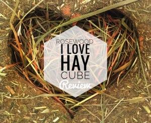 Rosewood I Love Hay Cube