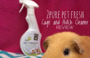 2Pure Pet Fresh Cage and Hutch Cleaner