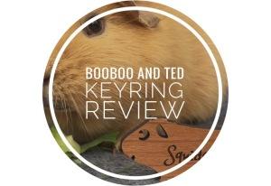 BooBoo and Ted Keyrings