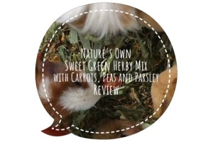 Nature's Own Sweet Green Herby Mix with Carrot and Peas