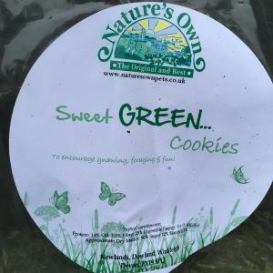 Sweet Green Cookies