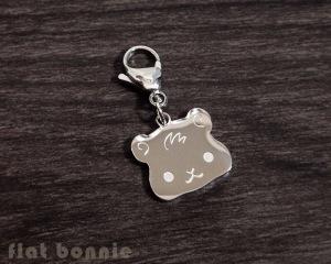 Flat Bonnie Guinea Pig Charm - Image from FlatBonnie.com