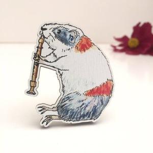 Bears Get Craft Brooch