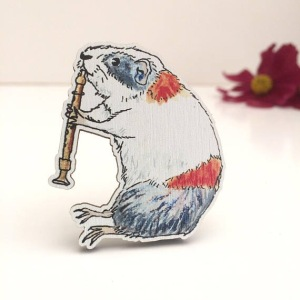 Bears Get Craft Brooch