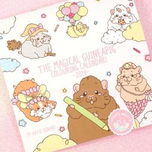 Magical Guinea Pig Calendar