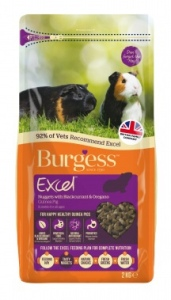 Burgess Guinea Pig Food review