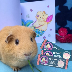 10% off at Guinea Pig Wheekly!