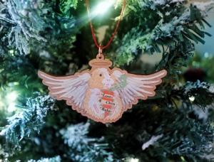 Guinea Pig Christmas Decoration