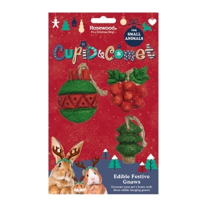 Rosewood Cupid & Comet Edible Festive Gnaws