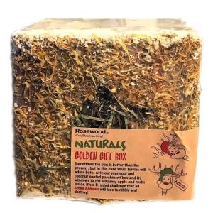 Rosewood Naturals Golden Gift Box